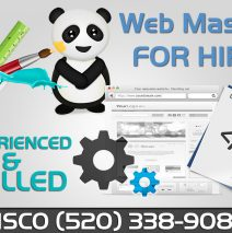 Web Master for Hire